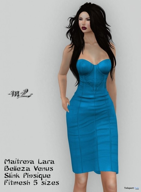 Rose Dress Light Blue Group Gift by monaLISA | Teleport Hub - Second Life Freebies | Second Life Freebies | Scoop.it