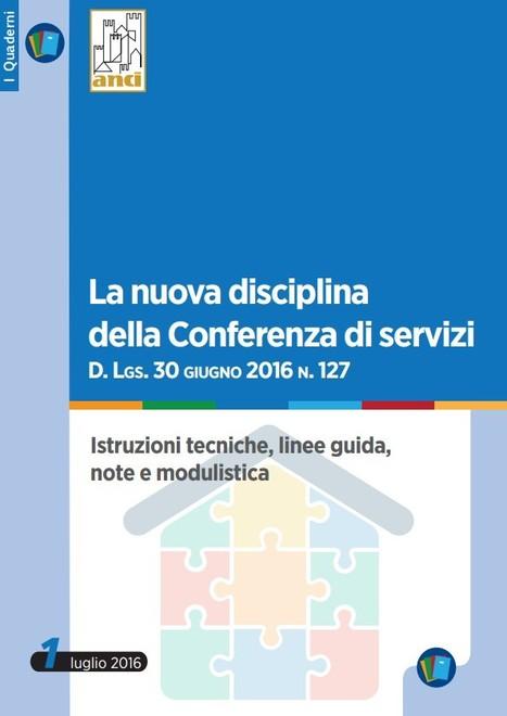 La nuova Conferenza di Servizi |La Guida proposta dall'ANCI | Urbanistica e Paesaggio | Scoop.it