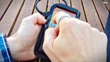 InTouch, un capteur miniature pour transférer des fichiers du bout du doigt | GB1 | Scoop.it