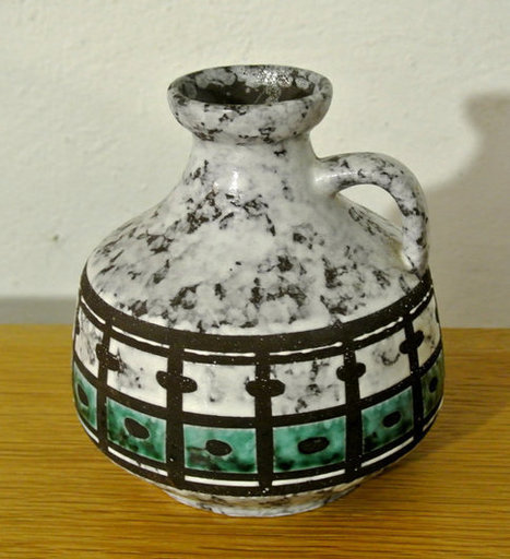 Glazed ceramic Strehla vase | whats been spotted on etsy today? | Scoop.it
