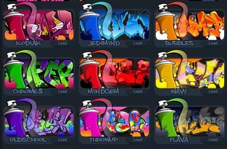 Anneliessenaste: Graffiticreator | It-teknik i skolan | Scoop.it