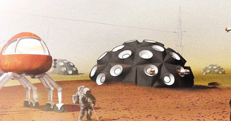 The Mojave desert will be home to 3D-printed Martian colony bases | Space matters | Scoop.it