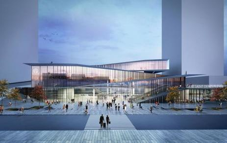 Saint-Denis : un nouveau quartier se dessine autour de la future gare - Le Parisien   Fab-Lab   Scoop.it