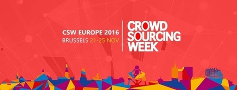2016 Crowdsourcing Week Europe Conference | Brussels | Co-revolution | Scoop.it