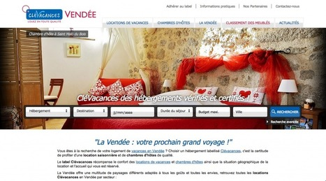 [Interview] La stratégie webmarketing de Clévacances 85 | Communication & Tourisme | Scoop.it