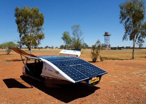 Solar-powered family car wins race across Australia | green streets | Scoop.it