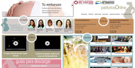 Paritorios Online, ejemplo de integración en Salud Digital | Salud Publica | Scoop.it