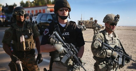 Ferguson or Iraq? Photos Unmask the Militarization of America's Police   Criminal Justice in America   Scoop.it