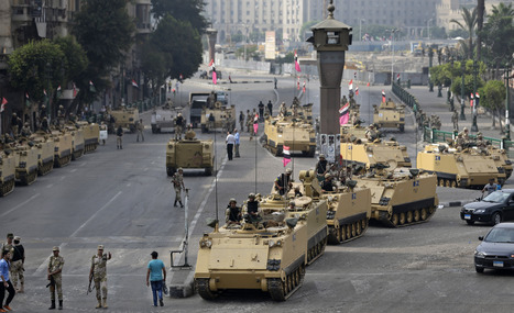 Despite Violence, Many Egyptians Support Military : NPR | Upsetment | Scoop.it