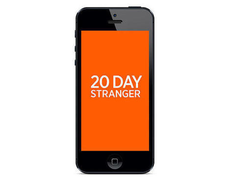 This Brilliant App Lets You Swap Lives With A Stranger For 20 Days | JWT WOW | Scoop.it