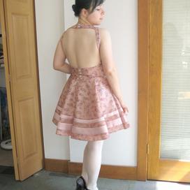 Open Back Flower Dress   sewing   Scoop.it