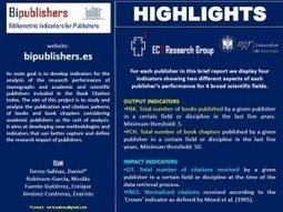 Home - Bibliometric Indicators for Publishers | Biomedical Research | Scoop.it