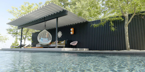 10 Modern Outdoor Spaces with Relaxing Swings - Design Milk | CLOVER ENTERPRISES ''THE ENTERTAINMENT OF CHOICE'' | Scoop.it