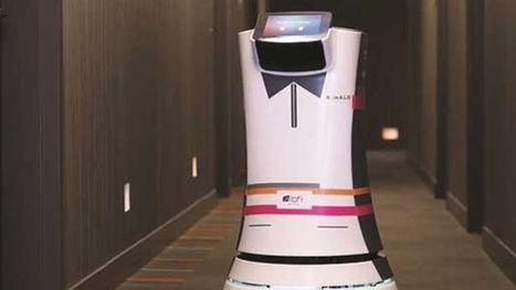 Un robot-majordome au service des clients d'un hôtel américain - Le Figaro   Les robots de service   Scoop.it