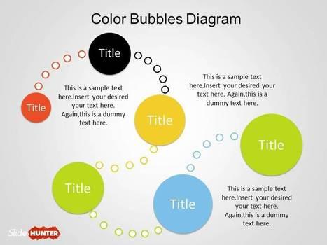 Color Bubble Diagrams for PowerPoint | Diagrams | Scoop.it