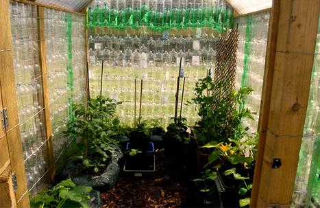 Et si vous construisiez un abri de jardin avec des bouteilles en plastique ? | pour mon jardin | Scoop.it