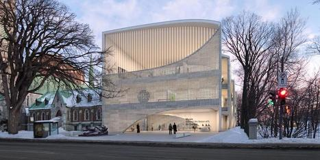 Musée National des Beaux-Arts du Québec | Allied Works Architecture | Art Museum Architecture | Art Museum Buildings | Art Museum Design | Architecture and Urban Planning | Scoop.it