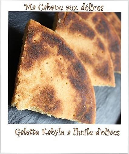 Galette kabyle a l'huile d'olives   La cuisine de Djouza recettes faciles et rapides   Boulange   Scoop.it