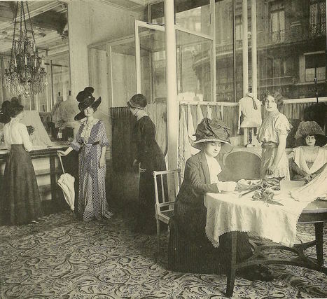 Working in the Paris Fashion Industry 100 Years Ago | Vintage and Retro Style | Scoop.it