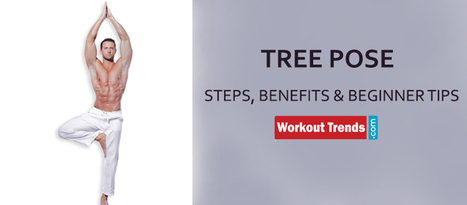 Tree Pose - Steps, Benefits And Beginner Tips   Workout Trends.com   Ayurveda   Scoop.it
