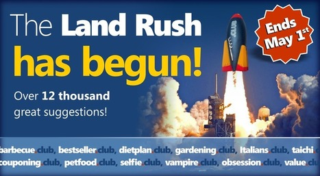 Our Picks of 400+ Domains From The 12K Domain .Club Landrush List | Top Level Domains | Scoop.it