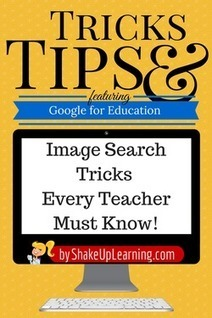 Google Tricks and Tips: Image Search Tricks Every Teacher Must Know! | Emerging Learning Technologies | Scoop.it