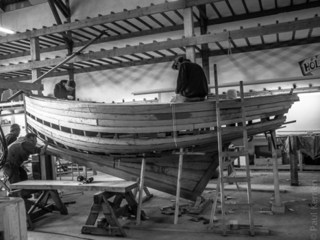 photo - Bretagne - Finistère :  réparation navale à Douarnenez : Ateliers de l'Enfer (7 photos)  © Paul Kerrien - http://toilapol.net | photo en Bretagne - Finistère | Scoop.it