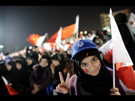 I see confident defiance in the eyes and expression of this young Woman in Bahrain! | Human Rights and the Will to be free | Scoop.it
