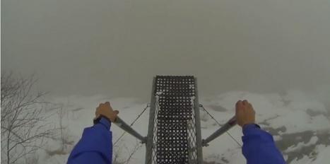 Base jump : il saute dans le vide dans le brouillard le plus total | sautenparachute | Scoop.it