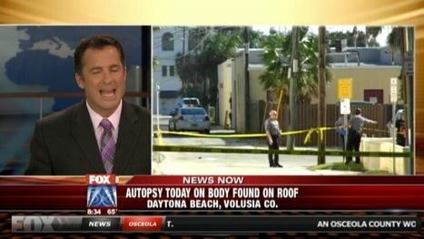 Naked man found bludgeoned to death on roof of Peabody Auditorium in Daytona Beach, Florida (VIDEO) | The Billy Pulpit | Scoop.it