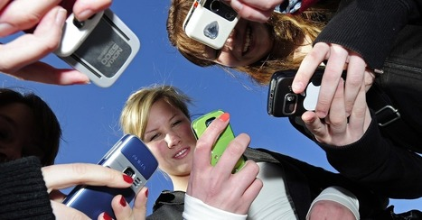 87% of American Teenagers Send Text Messages Each Month | Lesson Plan Ideas | Scoop.it