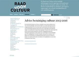 Advies Raad voor Cultuur mist toekomstperspectief - de Architect | Kunst in de journalistiek | Scoop.it
