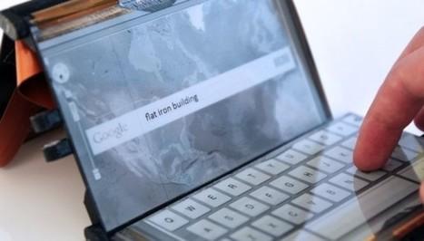 Paperfold : un smartphone pliable à trois écrans | Infos numériques | Scoop.it