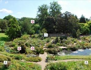 Partez en balade... virtuelle | Arboretums, parcs et jardins,jardin botanique | Scoop.it