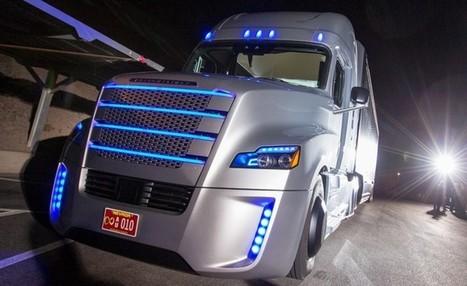 Voici le premier camion autonome autorisé à rouler ! | Toulouse networks | Scoop.it