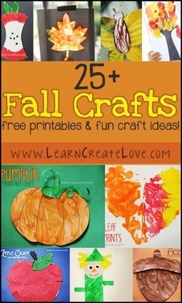 Fall Crafts Round-Up - Learn.Create.Love | Crafty Kids | Scoop.it
