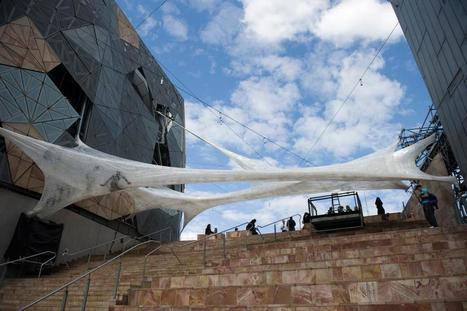 the group Numen / For Use: Tape | Art Installations, Sculpture, Contemporary Art | Scoop.it