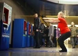 Moscow Subway Station Lets Passengers Pay Fare In Squats | Tout sur le Tourisme | Scoop.it