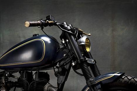 '03 Royal Enfield Electra – Bull City Customs   Smotra-moto.ru   Scoop.it