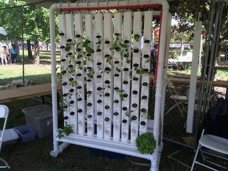 Raspberry Pi & Arduino are the brains of this automated DIY vertical hydroponic garden | Raspberry Pi | Scoop.it