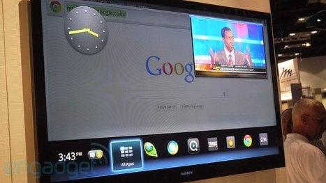 Sony shows off Honeycomb Google TV | Entrepreneurship, Innovation | Scoop.it