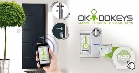 Okidokeys: Découverte, installation et programmation de la serrure connectée - News Domotiques by Domadoo   Hightech, domotique, robotique et objets connectés sur le Net   Scoop.it