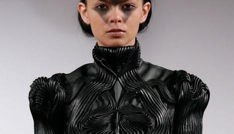 Processus intéressant! Iris Van Herpen: la mode Geek made in Netherlands | Up Couture Paris www.upcouture.com | Scoop.it