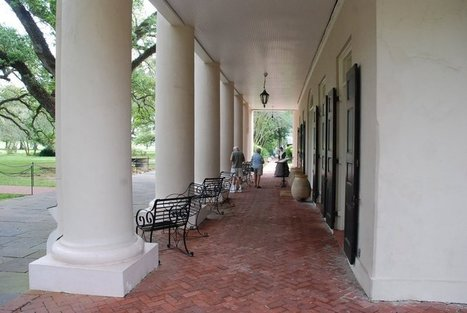 Front Porch Oak Alley | Oak Alley Plantation: Things to see! | Scoop.it