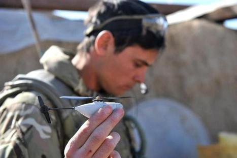 Afghanistan : des hélicoptères dans les poches des soldats britanniques | Libertés Numériques | Scoop.it
