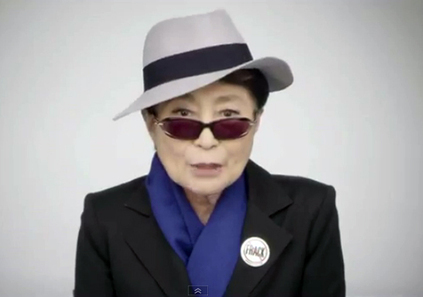 Yoko Ono Buys TV Ad Time to Speak to Gov. Cuomo About Fracking | EcoWatch | Scoop.it