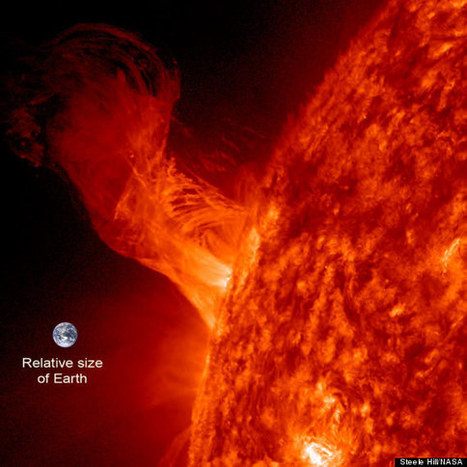 WATCH: Sun Greets New Year With Dazzling Eruption | Flood Myths and Legends | Scoop.it