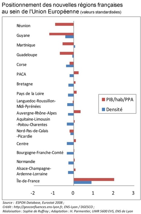Une nouvelle carte des régions françaises — Géoconfluences | En amont | Scoop.it