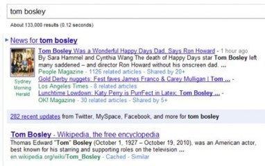 Google et Bing se font la guerre sur le terrain du social | The Digital Beer | Scoop.it