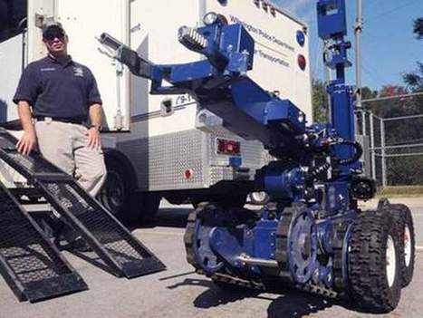 Robot named Sheila part of Wilmington terror defense | Robots and Robotics | Scoop.it